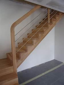 Fabriquer Son Escalier : escalier 1 4 tournant avec palier interm diaire ~ Premium-room.com Idées de Décoration