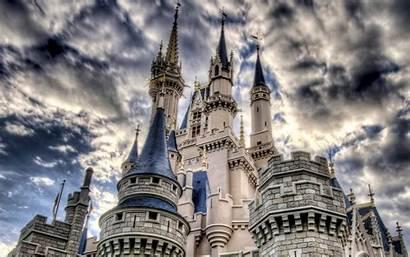 Castle Wallpapers Disney Hdr Gothic Architecture Desktop