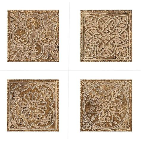 deco tiles marazzi montagna belluno 6 in x 6 in porcelain embossed deco receive 1 of 4 random decos