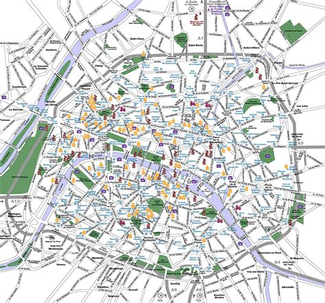 map  paris france recana masana