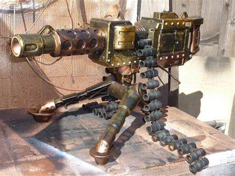 Fully-automatic Steampunk Nerf Type Machine By