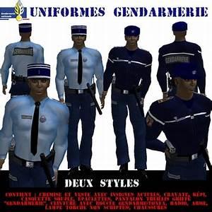 Uniforme Police Nationale : second life marketplace box uniforme gendarmerie ok ~ Maxctalentgroup.com Avis de Voitures