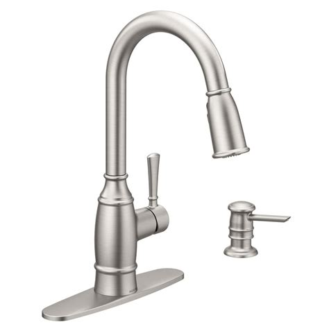 grohe bathroom faucets brushed nickel moen coil faucet