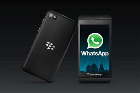 whatsapp available blackberry 10