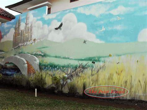 jasa lukis wajah karikatur lukis dinding mural lukis
