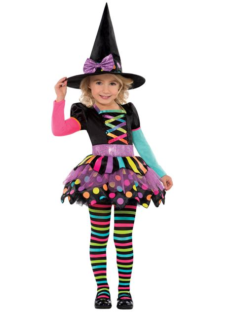 child miss matched witch costume 996994 fancy dress 186 | miss matched with childrens costume 996994