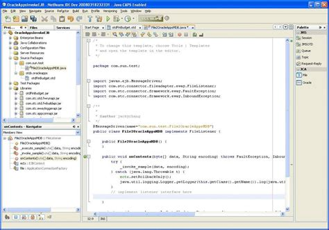 What Is Template In Java by To Implement The Oracle Applications Jca Adapter With An