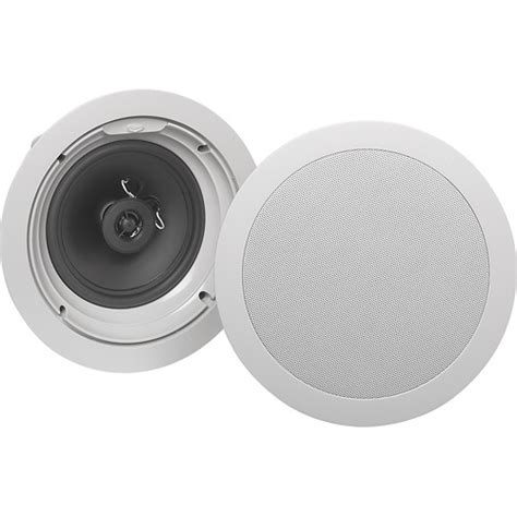 klipsch angled ceiling speakers klipsch 6 1 2 quot architectural in ceiling speaker each