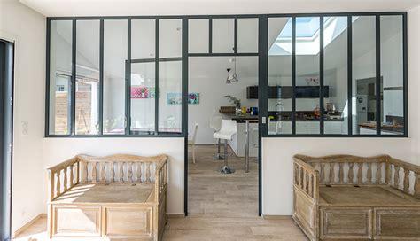 une mesure en cuisine verrière d 39 intérieur type atelier macoretz agencement