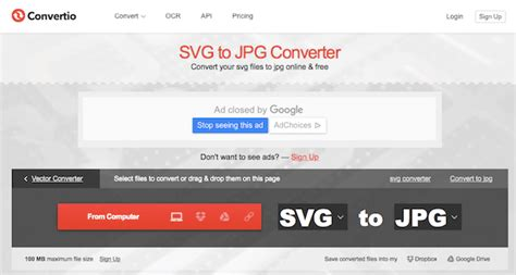 The output files will be listed in the conversion results. How to Convert SVG to JPG