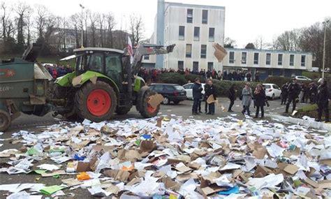 chambre agriculture quimper quimper manifestation des agriculteurs le télégramme
