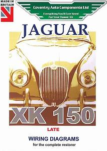 Jaguar Xk150 Late Model Exploded Wiring Diagram Book  9189