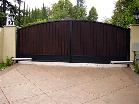 sliding gate opener solar powered best driveway gates in los angeles 323 275 9404 los