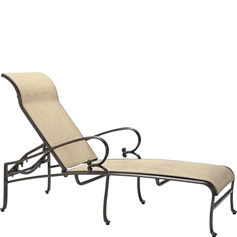chaises discount tropitone 450432 radiance sling chaise lounge discount