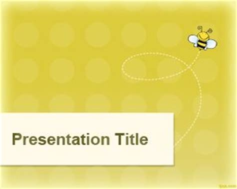 Bee Powerpoint Template