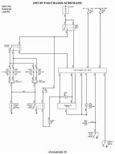 Toyota T100 Headlight Wiring Diagram