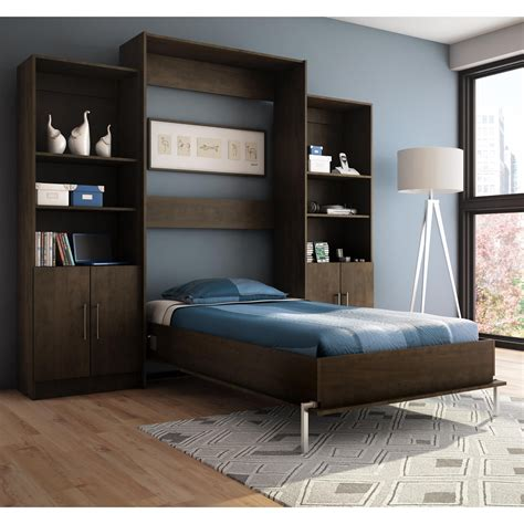 bed wall stella home furniture s207 4 milo wall bed atg stores