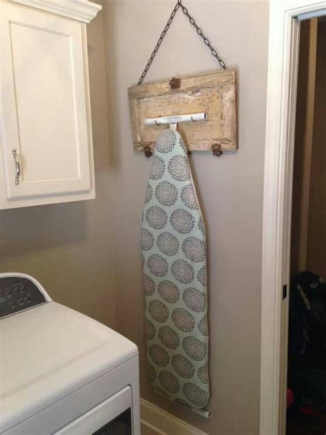 Decorate Cupboard Doors by Best 25 Ironing Board Hanger Ideas On Laundry