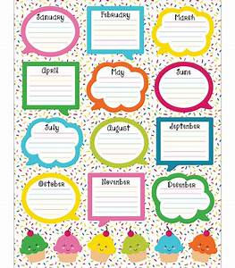 school pop birthday chart grade pk 5 carson dellosa With birthday chart template for classroom