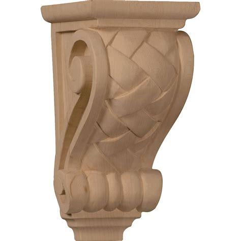 Oak Shoe Cabinet by Small Basket Weave Corbel Wood Corbel Turntech