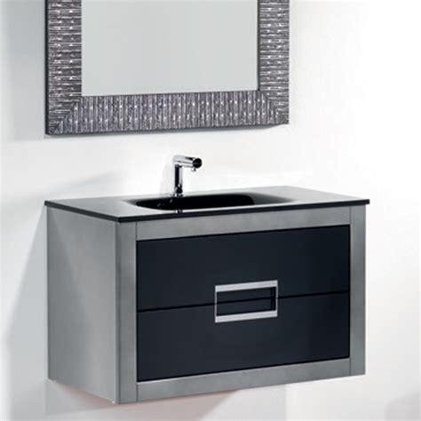danya silver leather modern bathroom vanity