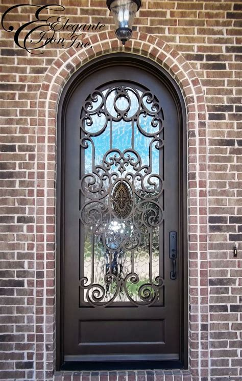 custom iron doors 197 best single doors images on irons and doors