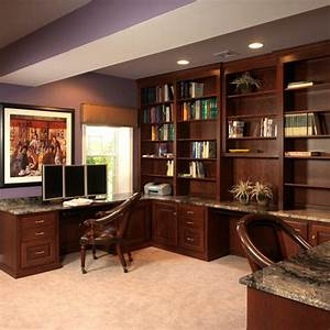 Traditional Home Office Photos Basement Design, Pictures