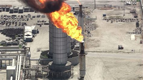 power outage forces refinery shutdown evacuations