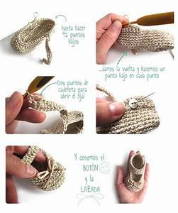 C U00f3mo Hacer Unos Patucos De Crochet Tipo Merceditas