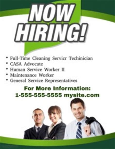now hiring template hiring poster templates postermywall