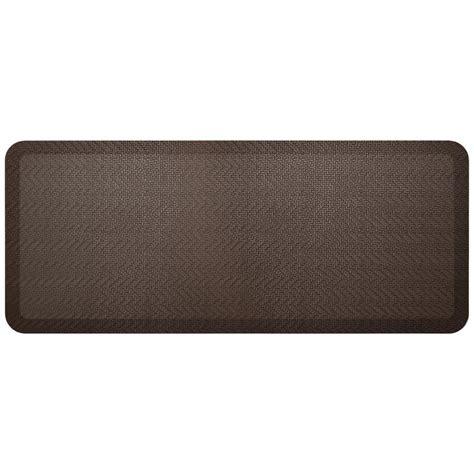 designer kitchen mats newlife designer sisal coffee bean 20 in x 48 in anti 3253