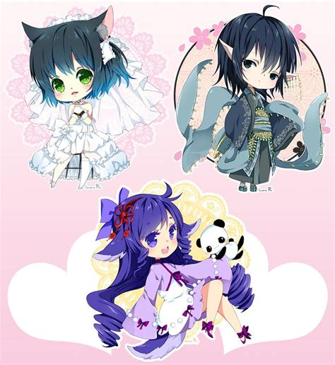 Chibi Commission Batch20 By Inma On Deviantart