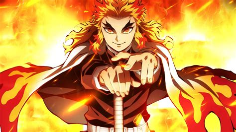 rengoku demon slayer p laptop full hd