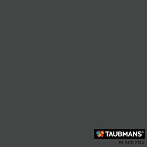 taubmans australia colour black fox t08 171 4 paint