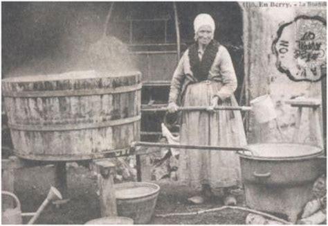 la lessive les jours de lessive fontaine fourches commune d ile de l huilerie et les