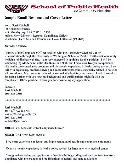 resume cover letter templates to secure application