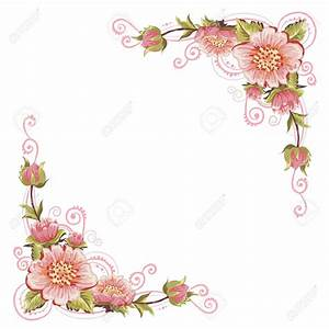 Free floral frames corner clipart - Clipart Collection ...