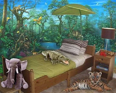 Amazing Kids Jungle Room Design Ideas  Interior Design