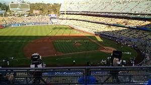 Seating Chart Dodger Stadium Rows Dodger Stadium Infield Reserve 19 Rateyourseats Com