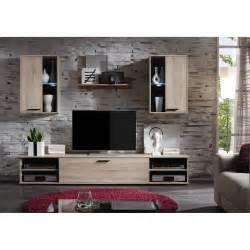 steinwnde fr wohnzimmer 2 wohnwand sonoma eiche mit led anbau schrank tv möbel wohnzimmer design modern eur 159 95