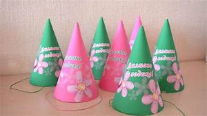How To Make A Beautiful Birthday Party Hats - DIY Home