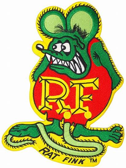 Rat Fink Patch Embroidered Patches Rod Ratfink