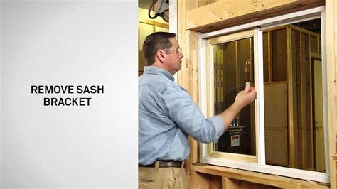 replacing  sash   series gliding windows andersen windows youtube