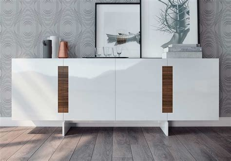 White Lacquer Sideboard Buffet by White Lacquer Sideboard Ml Britton Modern Buffets Stations