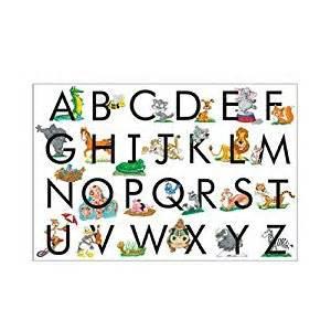 amazon com melissa doug abc 24 piece floor puzzle