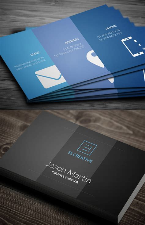 creative corporate business cards design design