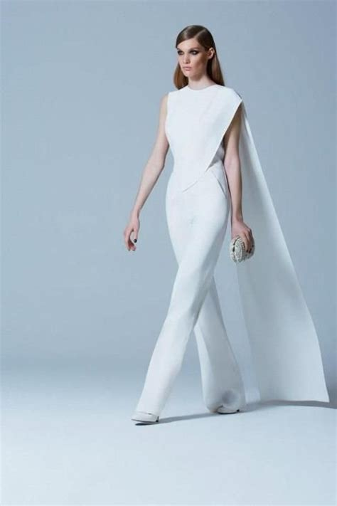 white jumpsuit for wedding white bridal jumpsuits 2016 2017 elegance for your