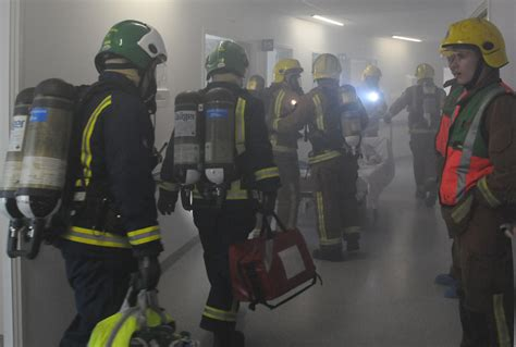 New Hospital Fire Drill Photo Gallery