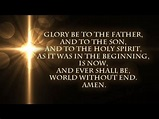 Lord Teach Me To Pray - Glory Be To The Father - YouTube