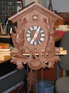Schatz, Cuckoo, Clock, From, Parts, U2013, Clockinfo, Com